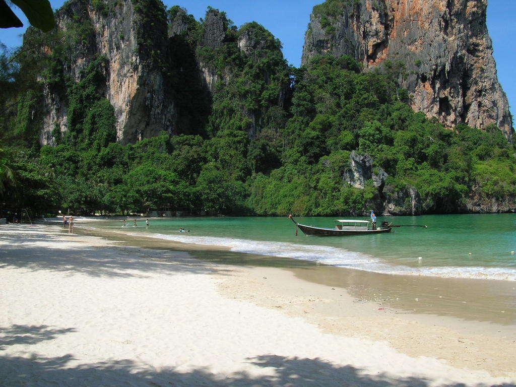 Railay Phuket Nice Beach Wallpaper