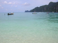 Koh Phi Phi's crystal clear waters
