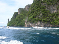 Koh Phi Phi - if you are expecting peace and quiet......