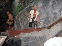 Phuket Mining Museum - lifesize mdels of tin miners