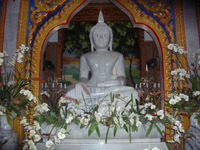 Buddha image at Wat Chalong