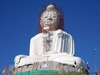 Phuket Big Buddha will be the biggest Buddha image in Thailand