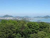 Khao Khat view to Koh Sirey
