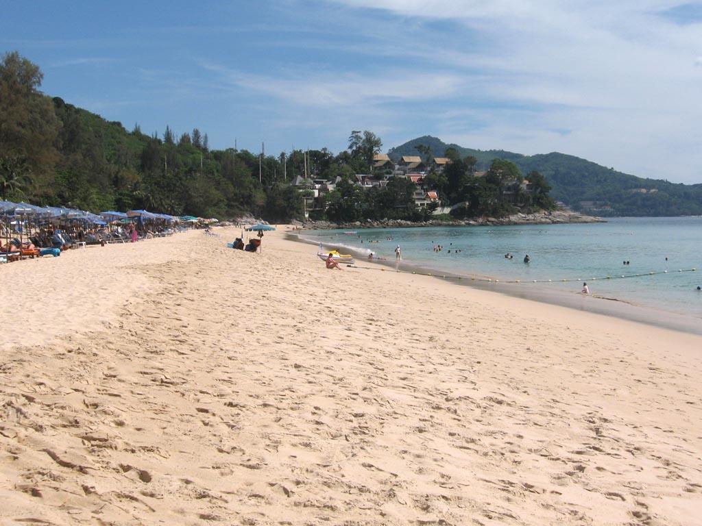 Surin Beach is a beaut...