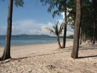 Bang Tao Beach is a  lovely 8km stretch of sand and home to the Laguna Complex