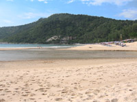 Nai Harn is a great beach but not much nightlife