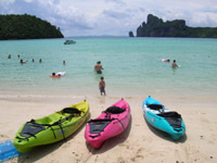 Phi Phi Islands: beautiful beaches in sheltered bays
