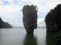 James Bond Rock in Phang Nga Bay