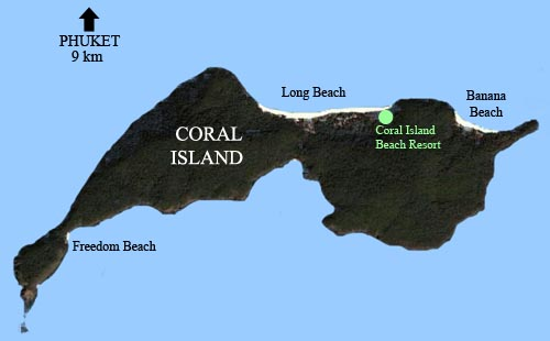 Coral Island Map