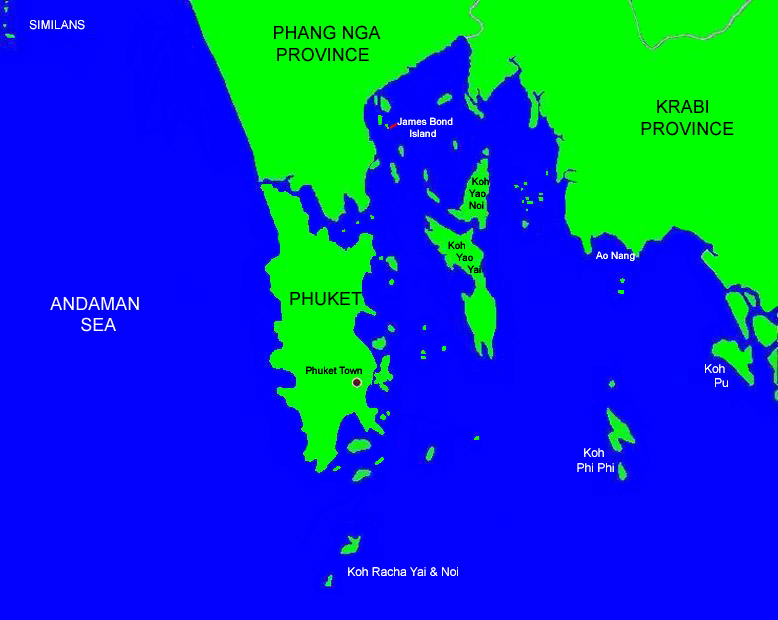 Image result for phuket map