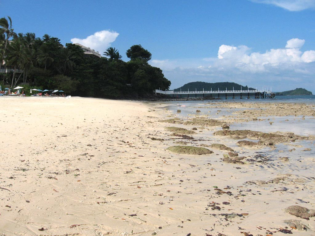 The Cape Panwa Hotel Beach Is Nice But Seabed Rather Rocky